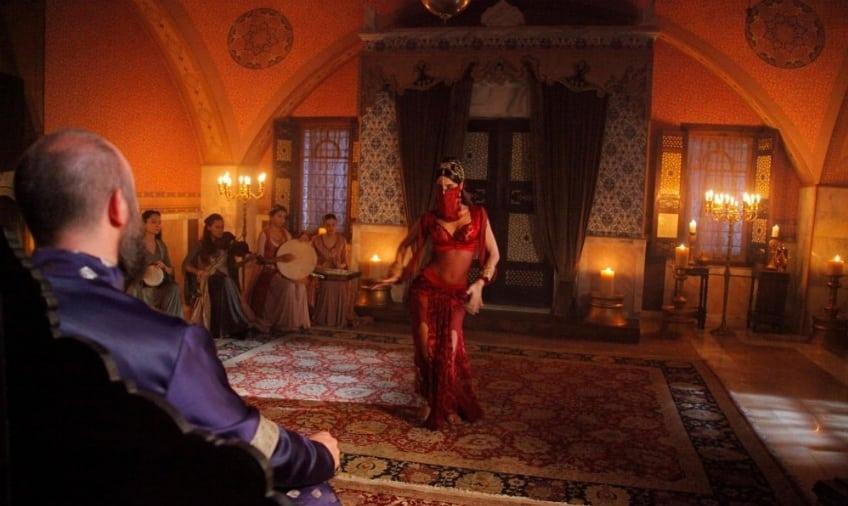 танец Фирузе для султана